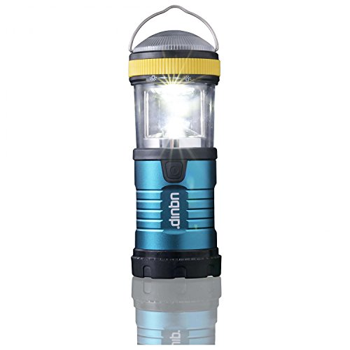 Uquip Wally Lampe de Poche LED – Lamp Camping & Outdoor – Laterne Camping 200 Lumen Blanche