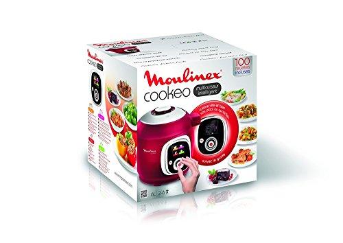 moulinex ce701500 intelligent cookeo multicuiseur avec 100 recettes rouge. Black Bedroom Furniture Sets. Home Design Ideas