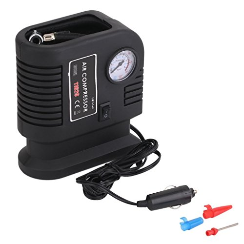 Camping & Outdoor 12V Car Electric Air Compressor Pump with LED Light Air Pump Type Compresor OL Schlafausrüstung