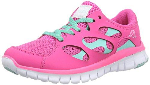 Kappa - FOX NC Footwear unisex, Sneaker basse Unisex – Adulto Rosa (2765 l'pink/ice)