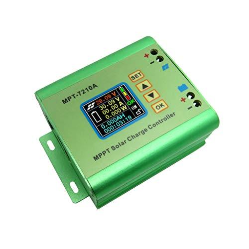 Preisvergleich Produktbild TAOtTAO LCD MPPT Solarregler-Laderegler 10A 60V DC-DC Boost Boost einstellbar hohe Leistung Konstantstrom-Konstantspannungs-LED-T... MPPT-Solarbatterie lädt 10A-Controller
