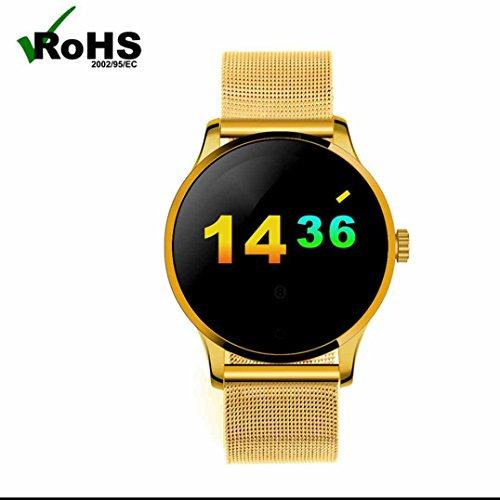 Original k88h Bluetooth Smart Uhren Herzfrequenz Monitor Sleep Qualität Monitor Gesundheit Activity Tracker Smart Uhren Unterstützung Siri und Voice Control für Android und IOS Smartphone