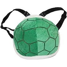 Cosplay traje verde 1pc Koopa Shell bolsa Super Mario Concha de morral de la felpa de