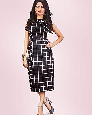 DIEGO Western Dresses for Womens Party wear one Piece Dress
