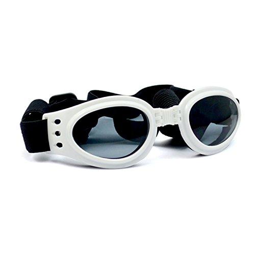 Perro gafas de sol gafas uv Gafas de protección mascota Fashion tamaño mediano
