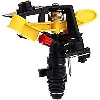 Everpert 1/5,1cm 360° Arroseur rotatif à bascule Bras de l'eau d'irrigation Buse de pulvérisation