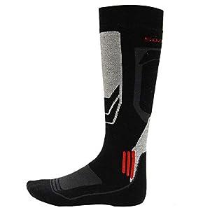 HATCHMATIC 1 Paar Winter-warme Thermal Skisocken Thick Cotton Ort Snowboard Radfahren Skifahren Fußball-Socken Thermsocks Beinlinge Socken: 39 bis 42 Meter