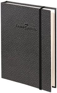 Faber-Castell 5075400808 Bambu Serisi A6 Ciltli Kareli Koyu Gri Koyu Gri