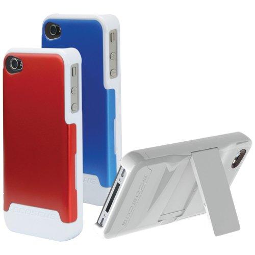 Scosche IP4K2L2V Schutzhülle für iPhone 4 / 4S (Polycarbonat, austauschbare Rückseite) Verizon und AT&T
