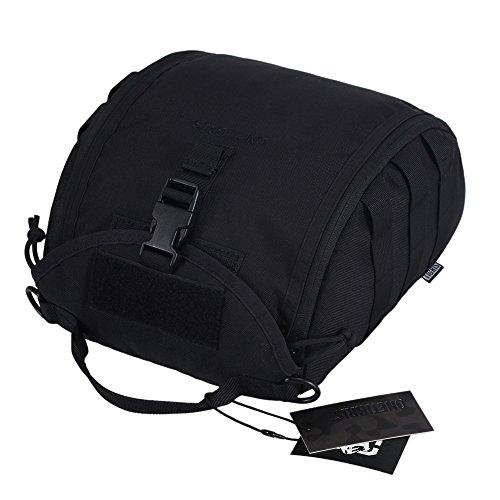 OneTigris Helmtasche Zubehörtasche für Taktische Helm (Helmtasche-Schwarz)
