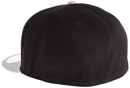 Flexfit bonnet pour adulte haute fitted 2 tone - 210 Multicolore - Noir/gris