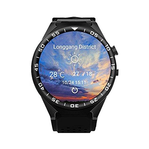 Gps-Navigation Herzfrequenz 3G-Karte Hd-Kamera-Bildschirm Smart Watch Telefon Unterstützt Eine Vielzahl Von Sprachen , black -