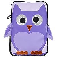 caseable - Funda infantil para tablet Fire, Purple Owl
