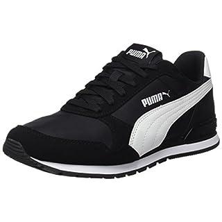 Puma Unisex-Erwachsene St Runner V2 Nl Fitnessschuhe, Schwarz (Puma Black-Puma White 01), 41 EU