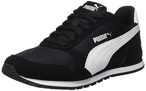 Puma St Runner V2 Nl, Zapatillas de Cross Unisex adulto,Negro (Puma Black-Puma White 01) 43 EU