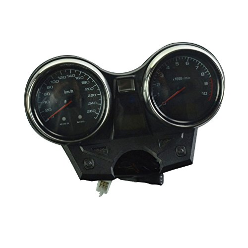 FastPro Motorrad Tachometer Kilometerzähler Instrument Tacho Gauge Cluster Meter für Honda CB 1300 2004-2008