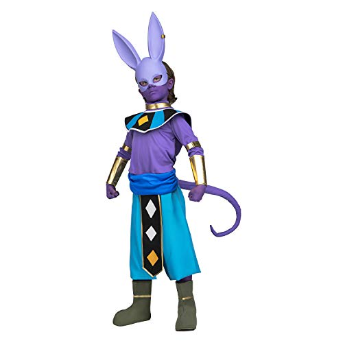 COSPLAY DE BEERUS O BILLS PARA NIÑO DRAGON BALL SUPER