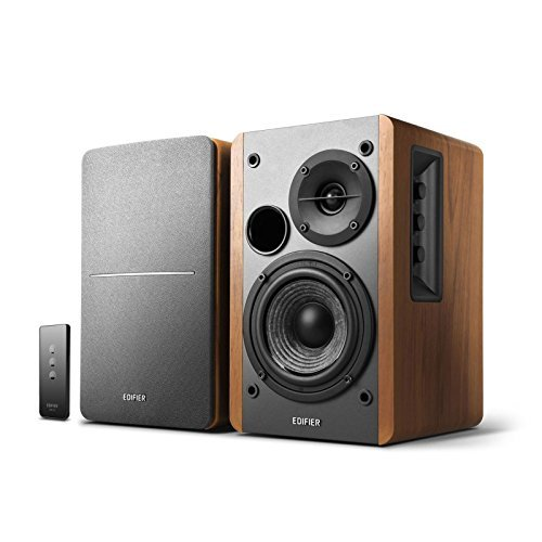 Edifier R1280T Bookshelf Speaker (Brown and Black)  available at amazon for Rs.19799