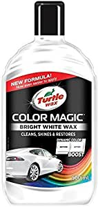 Turtle Wax 52712 Color Magic Polieren Und Lackieren 500ml Weiß Auto