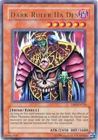 Yu-Gi-Oh! - Dark Ruler Ha Des (DB2-EN124) - Dark Beginnings 2 - Unlimited Edi... (Dark Ruler Ha Des)