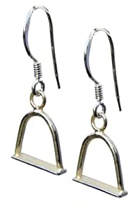 Silver Horse Jewellery Stirrup Earrings |Handmade 925 Sterling | FREE Delivery in UK Gift Wrapped