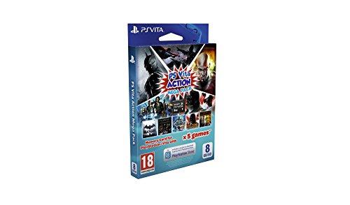 Sony - Mega Pack Action De 5 Juegos + Tarjeta De Memoria, 8 GB (PlayStation Vita)