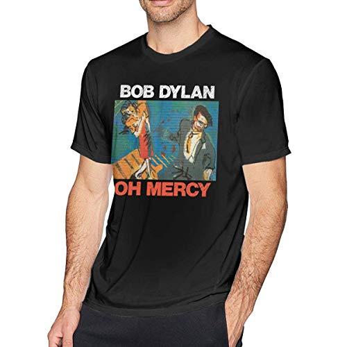 liuyang727000 Bob Dylan Oh Mercy Men's Soft T-Shirt Black