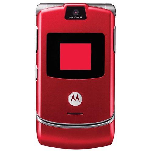 Motorola RAZR V3 ROT / Kein Sim Lock Motorola Razr V3i
