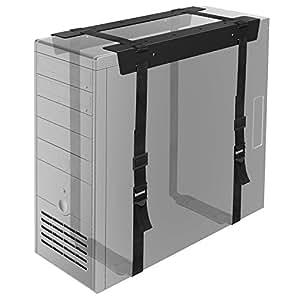 1 homeSotto scrivania PC CPU Supporto Computer Hoder Salvaspazio per Casa Ufficcio