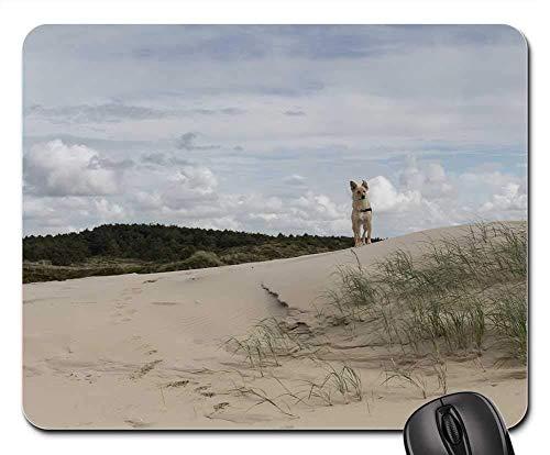Gaming-Mauspads, Mäusematte, Düne Holland Niederlande Sea Sand Grass Dog - Dunes Club
