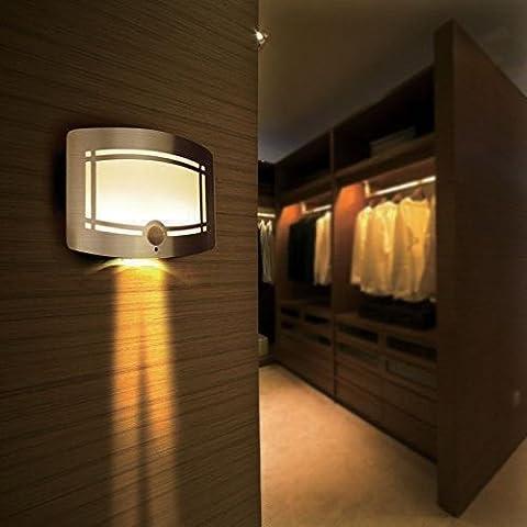 Sentik 10LED sans fil à détecteur de mouvement LED Applique Murale Lampe Couloir Escalier Armoire