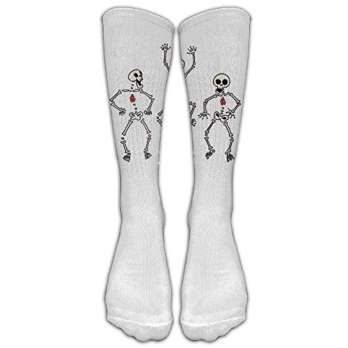 hdgfjhdfjdf Anatomical Ht Science Geek Nerd Biology Custom Knee High Socks Football Baseball Long Stockings for Men Women
