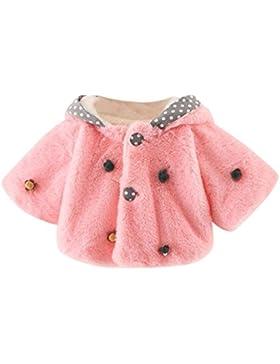 BeautyTop Baby-Säuglingsmädchen-Herbst-Winter-mit Kapuze Mantel-Mantel-Jacke-starke warme Kleidung