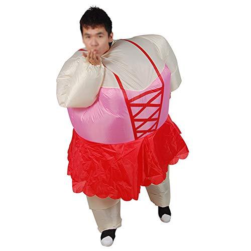 Karneval Ballett Der Kostüm Tiere - OOFAY Aufblasbare Sumo Ballett Kleidung, Aufblasbare Kleidung, Erwachsene Aufblasbare Kleidung, Für Ferien Parteien, Etc.