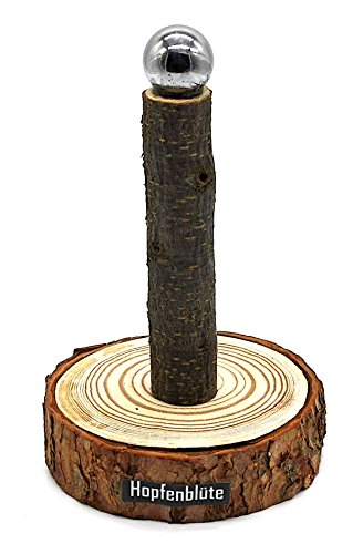 41iyHtUgU4L - HOPFENBLÜTE ® - Magnetbaum Holz - Männer Geschenk Geburtstag - Partygeschenk - Bis zu 60 Kronkorken - Magnetbaum - Bier