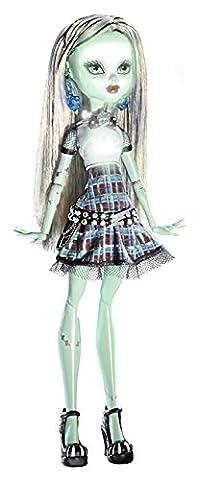 Monster High - Y0424 - Poupée - Monstre Fantastique - Frankie Stein - Série GHOUL'S ALIVE