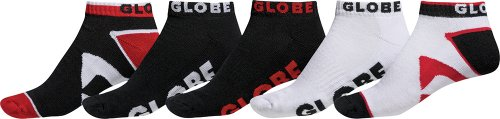 globe-fearon-destroyer-gb70919041-unisex-ankle-socks-pack-size-7-11-red