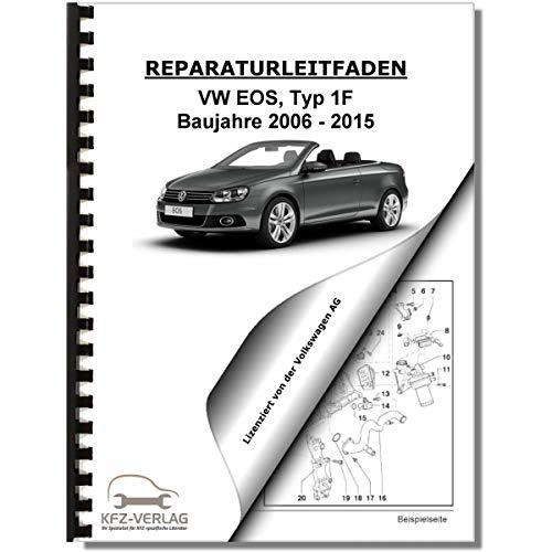 VW EOS, Typ 1F (06-15) Karosserie-Montagearbeiten Außen - Reparaturanleitung