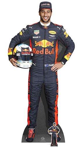 (Star Einbauöffnungen Daniel Ricciardo Cut Out, Mehrfarbig)