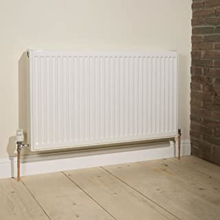 Premium Double Panel Double Convector Radiator by Kudox   Type 22   600mm x 1200mm   7,324 BTU's