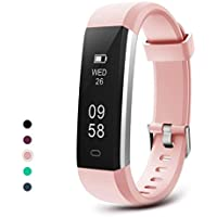 Letsfit Fitness Tracker, IP67 Waterproof Activity Tracker Watch, Pedometer Watch, Sleep Monitor, Step Counter, Slim Smart Watch Sport Watch for Women and Men