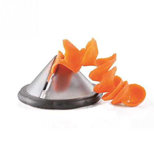 Generic Edelstahl Gemüse Spiralizer Schneide Werkzeug Gemüse Gravur Messer Fruits gleiten Werkzeug
