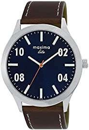 Maxima Analog Blue Dial Men's Watch-L-62386