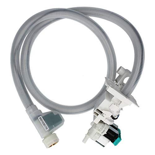 Zulaufschlauch Schlauch 1,7m mit Magnetventil Einlaufventil ORIGINAL Bosch Siemens 571916 00571916 für Waschmaschine Waschtrockner -