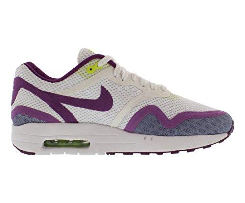 Nike Air Max 1 Breeze Sneakers Damen White/Bright Grape/Venom Green
