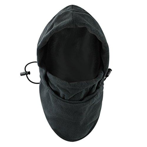 BXT Kinder Sturmhaube Fleece Gesichtshaube Skimaske Kopfhaube Gesichtsmaske Winter Windmaske Schlupfmütze für Unisex Jungen Mädchen