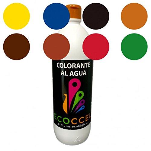 Tinte, tinte agua, colorante, colorante ecológico