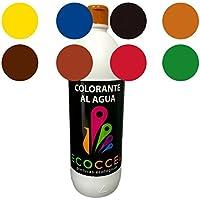 Tinte, tinte al agua, colorante, colorante ecológico, tinte ecológico, mejor colorante para pinturas con base de agua, colorante pintura pared, colorante pintura, tintes 1Lt pardo (1 lt)