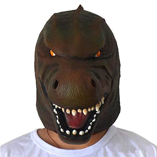 Lydia's Anime Masken Maske Godzilla: König Der Monster Kopf Cosplay Maskerade Thema Party Film Leistung Requisiten 58-63cm (Lydia Kostüm)