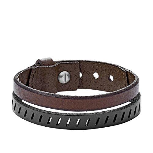 Fossil Herren Wickelarmbänder Leder JA6927040